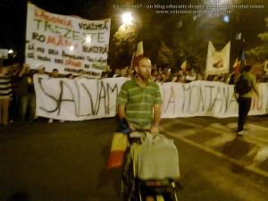 4 galerie poze imagini foto mars protest manifestatie eveniment anti impotriva proiect minier cianuri lege pentru Rosia Montana 22 septembrie 09 2013 bucuresti universitate