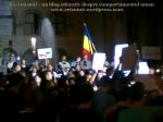 4 poze imagini foto protest miting manifestatie universitate fantana arhitectura 5 septembrie 2013 proiectul rosia montana bucuresti scandari cantece steagul romaniei protestatari