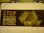40 poze imagini foto protest miting manifestatie protestatari 5 septembrie 2013 proiect rosia montana bucuresti palatul parlamentului casa poporului pancarta stop cianurii