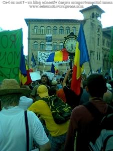 6  poze imagini video protest de strada miting proiect cianuri salvati rosia montana 1 09 septembrie 2013 bucuresti universitate impotriva gazelor de sist lege guvernul ponta rmgc