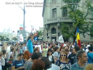 7  poze imagini video protest de strada miting proiect cianuri salvati rosia montana 1 09 septembrie 2013 bucuresti universitate impotriva gazelor de sist lege guvernul ponta rmgc