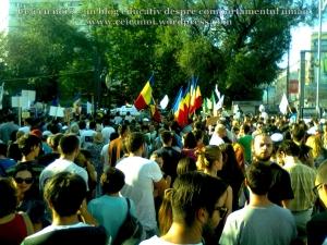 8  poze imagini video protest de strada miting proiect cianuri salvati rosia montana 1 09 septembrie 2013 bucuresti universitate impotriva gazelor de sist lege guvernul ponta rmgc