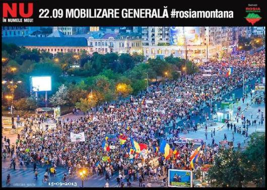 Mobilizare generala protest Rosia Montana 22 septembrie 2013 09 facebook Bucuresti Romania in toata lumea manifestatie anti gaze de sist impotriva coruptiei Jos mafia politicieni