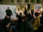 poze imagini foto protest rosia montana 10 noiembrie 11 2013 bucuresti piata universitatii universitate statui ateliere creatie mesaje impotriva contra gazelor de sist 10
