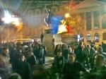 poze imagini foto protest rosia montana 10 noiembrie 11 2013 bucuresti piata universitatii universitate statui ateliere creatie mesaje impotriva contra gazelor de sist 12