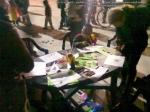 poze imagini foto protest rosia montana 10 noiembrie 11 2013 bucuresti piata universitatii universitate statui ateliere creatie mesaje impotriva contra gazelor de sist 13