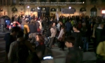 poze imagini foto protest rosia montana 10 noiembrie 11 2013 bucuresti piata universitatii universitate statui ateliere creatie mesaje impotriva contra gazelor de sist 18