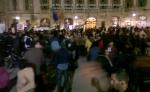 poze imagini foto protest rosia montana 10 noiembrie 11 2013 bucuresti piata universitatii universitate statui ateliere creatie mesaje impotriva contra gazelor de sist 19