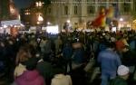 poze imagini foto protest rosia montana 10 noiembrie 11 2013 bucuresti piata universitatii universitate statui ateliere creatie mesaje impotriva contra gazelor de sist 21