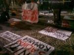 poze imagini foto protest rosia montana 10 noiembrie 11 2013 bucuresti piata universitatii universitate statui ateliere creatie mesaje impotriva contra gazelor de sist 4