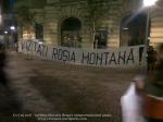 poze imagini foto protest rosia montana 10 noiembrie 11 2013 bucuresti piata universitatii universitate statui ateliere creatie mesaje impotriva contra gazelor de sist 5