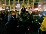 poze imagini foto protest rosia montana 10 noiembrie 11 2013 bucuresti piata universitatii universitate statui ateliere creatie mesaje impotriva contra gazelor de sist 8
