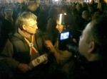 poze imagini foto protest rosia montana 10 noiembrie 11 2013 bucuresti piata universitatii universitate statui ateliere creatie mesaje impotriva contra gazelor de sist 9
