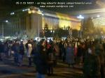 poze protest piata victoriei bucuresti 2 decembrie 2013 impotriva coruptiei sistem exploatare sclavie moderna rosia montana gaze sist fracturare hidraulica pungesti solidaritate demisia ponta 1