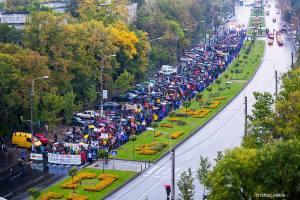 protest miting mars rosia montana titan universitate proiect minier cianuri gaze sist coruptia politicienilor fotograf cristian vasile intre titan si nicolae grigorescu
