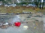 10 poze imagini foto furtuna ploaie vijelie Bucuresti umbrele rupte aruncate peste tot pe jos strada despre societatea romaneasca comportamentul romanilor in prezent lipsa bun simt gunoaie aruncate