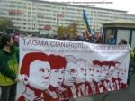 15 galerie poze imagini foto mars protest miting rosia montana bucuresti 13 octombrie 10 2013 manifestatie anti contra impotriva proiectului minier cu cianuri RMGC pancarte