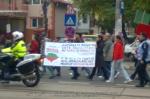 26 galerie poze imagini foto mars protest miting rosia montana bucuresti 13 octombrie 10 2013 manifestatie anti contra impotriva proiectului minier cu cianuri RMGC pancarte