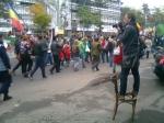 37 galerie poze imagini foto mars protest miting rosia montana bucuresti 13 octombrie 10 2013 manifestatie anti contra impotriva proiectului minier cu cianuri RMGC pancarte
