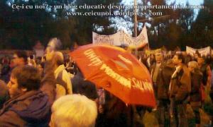 42 galerie foto poze imagini video proteste 6 octombrie 10 2013 rosia montana mars bucuresti cartier militari cotroceni universitate piata universitatii umbrela rosia montana