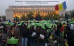 92 galerie poze imagini foto mars protest miting rosia montana bucuresti 13 octombrie 10 2013 manifestatie anti contra impotriva proiectului minier cu cianuri RMGC pancarte