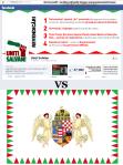 comparatie culorile campanie cont logo facebook uniti salvam rosia montana sunt la fel identice asemanare cu ca steagul ungariei steaguri unguresti formatiune jobbik extrema dreapta maghiari