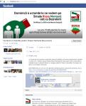 culori campanie facebook fb sigla logo proteste uniti salvam proiect rosia montana rosu alb verde steag ungaria formatiunea maghiara jobbik soros mars de protes militari universitate 2013