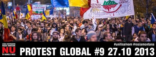 mars de protest proiect minier cianuri rosia montana rmgc bucuresti 27 octombrie 10 2013 impotriva coruptiei clasei politice anti politicieni sclavia moderna exploatare gaze sist