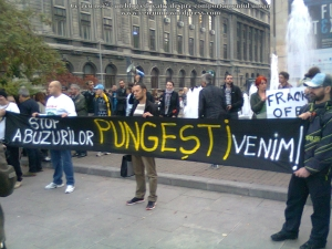 poze imagini foto mars protest 16 octombrie 10 2013 solidaritate protestatarii din pungesti impotriva pericole exploatare gaze de sist rascoala anti chevron Bucuresti 1
