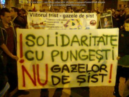 poze imagini foto mars protest 16 octombrie 10 2013 solidaritate protestatarii din pungesti impotriva pericole exploatare gaze de sist rascoala anti chevron Bucuresti 19