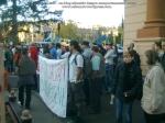 poze imagini foto mars protest anti contra proiect cianuri rosia montana Brasov 27 octombrie 10 2013 protestatari impotriva exploatarii gazelor de sist fracturare hidraulica 10