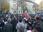 poze imagini foto mars protest anti contra proiect cianuri rosia montana Brasov 27 octombrie 10 2013 protestatari impotriva exploatarii gazelor de sist fracturare hidraulica 14