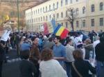 poze imagini foto mars protest anti contra proiect cianuri rosia montana Brasov 27 octombrie 10 2013 protestatari impotriva exploatarii gazelor de sist fracturare hidraulica 17