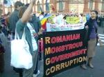 poze imagini foto mars protest anti contra proiect cianuri rosia montana Brasov 27 octombrie 10 2013 protestatari impotriva exploatarii gazelor de sist fracturare hidraulica 27