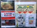 poze imagini foto mars protest anti contra proiect cianuri rosia montana Brasov 27 octombrie 10 2013 protestatari impotriva exploatarii gazelor de sist fracturare hidraulica 8