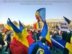 poze imagini foto video marsul unirii 20 octombrie 10 2013 bucuresti parlament basarabia e unirea romania republica moldova protest exploatare proiect rosia montana gaze de sist 10