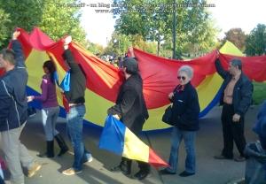 poze imagini foto video marsul unirii 20 octombrie 10 2013 bucuresti parlament basarabia e unirea romania republica moldova protest exploatare proiect rosia montana gaze de sist 101