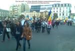 poze imagini foto video marsul unirii 20 octombrie 10 2013 bucuresti parlament basarabia e unirea romania republica moldova protest exploatare proiect rosia montana gaze de sist 110