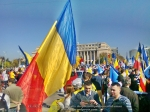 poze imagini foto video marsul unirii 20 octombrie 10 2013 bucuresti parlament basarabia e unirea romania republica moldova protest exploatare proiect rosia montana gaze de sist 16