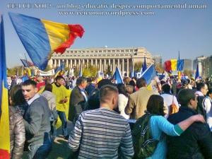 poze imagini foto video marsul unirii 20 octombrie 10 2013 bucuresti parlament basarabia e unirea romania republica moldova protest exploatare proiect rosia montana gaze de sist 19
