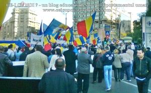 poze imagini foto video marsul unirii 20 octombrie 10 2013 bucuresti parlament basarabia e unirea romania republica moldova protest exploatare proiect rosia montana gaze de sist 20