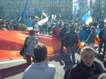 poze imagini foto video marsul unirii 20 octombrie 10 2013 bucuresti parlament basarabia e unirea romania republica moldova protest exploatare proiect rosia montana gaze de sist 3