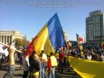 poze imagini foto video marsul unirii 20 octombrie 10 2013 bucuresti parlament basarabia e unirea romania republica moldova protest exploatare proiect rosia montana gaze de sist 4