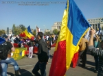 poze imagini foto video marsul unirii 20 octombrie 10 2013 bucuresti parlament basarabia e unirea romania republica moldova protest exploatare proiect rosia montana gaze de sist 5