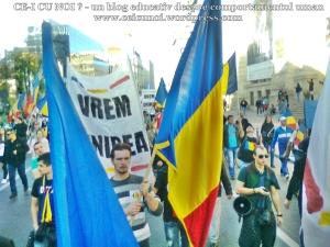 poze imagini foto video marsul unirii 20 octombrie 10 2013 bucuresti parlament basarabia e unirea romania republica moldova protest exploatare proiect rosia montana gaze de sist 51