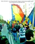 poze imagini foto video marsul unirii 20 octombrie 10 2013 bucuresti parlament basarabia e unirea romania republica moldova protest exploatare proiect rosia montana gaze de sist 60