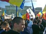poze imagini foto video marsul unirii 20 octombrie 10 2013 bucuresti parlament basarabia e unirea romania republica moldova protest exploatare proiect rosia montana gaze de sist 72