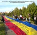 poze imagini foto video marsul unirii 20 octombrie 10 2013 bucuresti parlament basarabia e unirea romania republica moldova protest exploatare proiect rosia montana gaze de sist 80