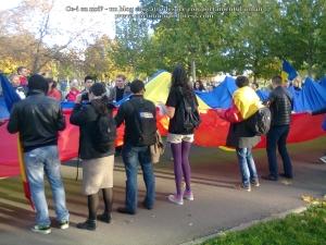 poze imagini foto video marsul unirii 20 octombrie 10 2013 bucuresti parlament basarabia e unirea romania republica moldova protest exploatare proiect rosia montana gaze de sist 95