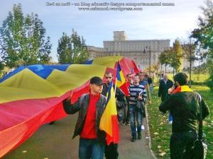 poze imagini foto video marsul unirii 20 octombrie 10 2013 bucuresti parlament basarabia e unirea romania republica moldova protest exploatare proiect rosia montana gaze de sist 98